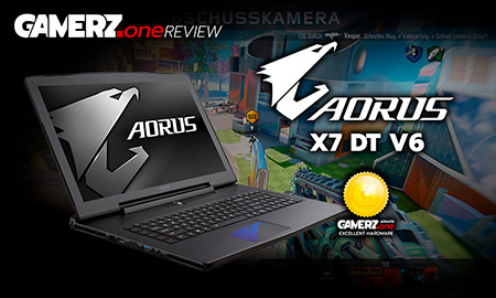AORUS X7 – Highend-Gaming-Flachmann im GAMERZ.one Review!